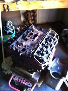 80s 454 block and heads & intake