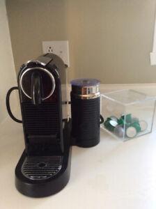 Machine nespresso Citiz and milk noire