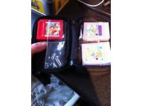 Gameboy pocket with Pokemon red and super mario 1 and 2