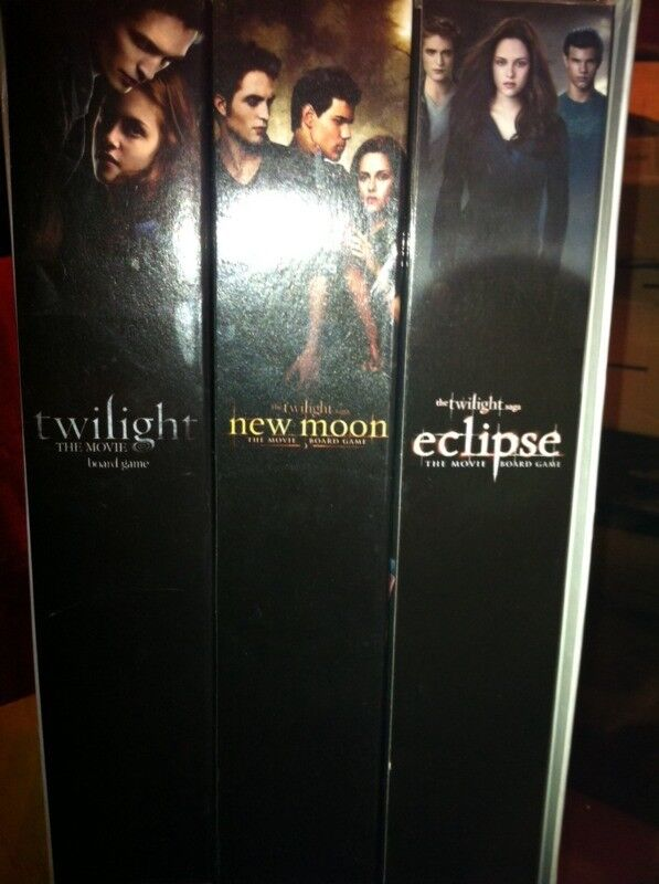 Twilight game collection including Twilight new moon and eclipse