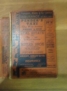Halifax Dartmouth 1940 phone book and directory