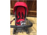 Baby oyster pushchair stroller buggy