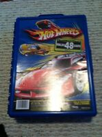 Hot wheels case and cars!