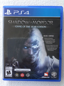 PS4 game - Shadow of Mordor