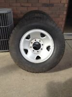 F-250/350 Ford Wheels and Tires
