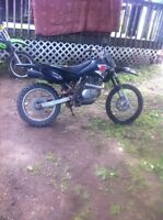 Drz 125L 2007 1500 Obo trade for sled