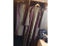 Brand new from Dubai silk suits 2 pieces dress & trousers size: M/L £25