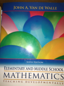 Math EDUC text Elementary and Middle School Mathematics