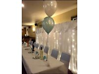 Starlit Backdrop Package- perfect for your wedding or party! FREE delivery & set up in the NorthEast