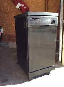 "Portable Kenmore 18"" dishwasher"