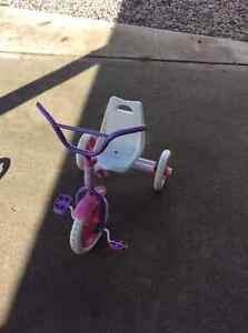 Girl's tricycle.
