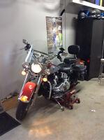 Super Belle moto a qui la chance !