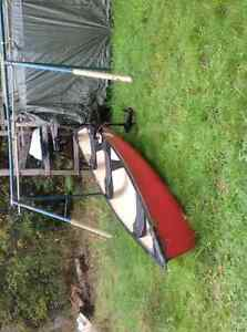 15 foot canoe with electric motor