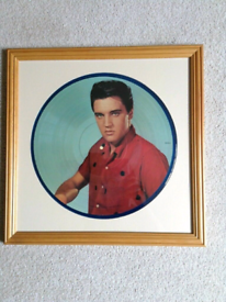 Elvis Presley - Mounted L.P.Picture Disc