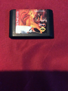 The lion king for sega genesis