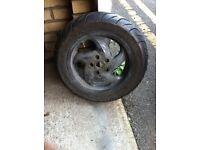 gilera runner vx rear wheel £20