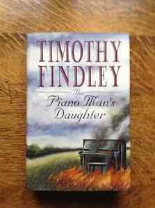 The Piano Man's Daughter by Timothy Findley[Inscribed]