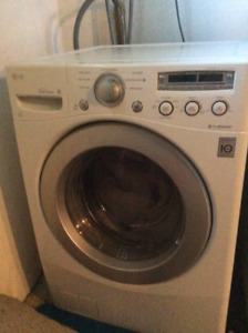 LG High Efficiency Washer with large load Capacity, Need Gone!