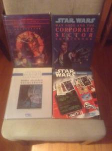 Lot de 12 livres de STAR WARS RPG (West End Games) pour $200