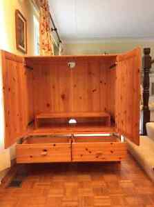TV and Storage Hutch North Shore Greater Vancouver Area image 2