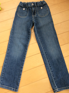 Gymboree girls size 6 slim jeans barely worn