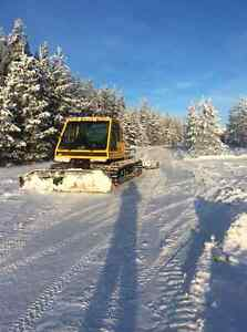 Snowcat services , winter / ice road building and snow removal .