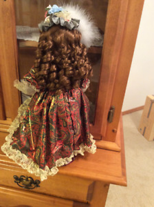 Beautiful Doll with long curly hair