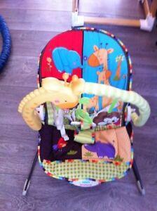 Chaise vibrante pour bébé