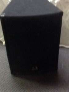 One passive Wharfedale pro SVP-15, also 2 stage speakers
