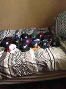 Snap backs and fitted hats new era