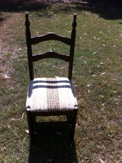 Vintage chair dining chairs seats