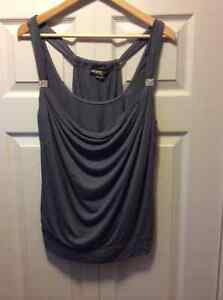 Guess draped cami with embellished straps size m