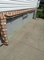 15 foot awning basket type