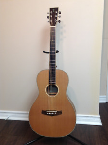 Tanglewood TP CSN E Parlor Size Acoustic Electric Guitar
