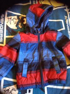 Fall/Spring jacket.