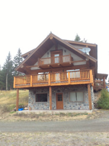 4 Bedroom Log house for rent on Horsefly Road