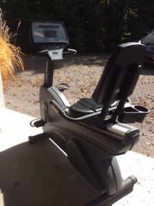 LifeCycle Recumbent Exercise Bike
