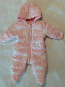 Baby girl snow suit Old Navy for sale