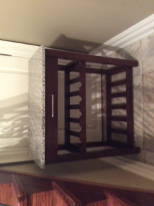 Wine Rack and Working Table