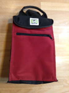 INSULATED LUNCH BAG IS GOOD FOR CAMP OR SCHOOL