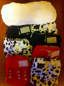 Happy Heiny's one-size cloth diapers and inserts