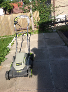 Lawnmower and Soil spreader