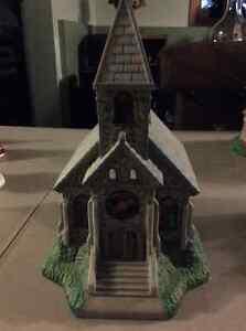Partylite tealight holder church
