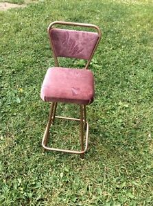 Vintage kitchen chair/stool