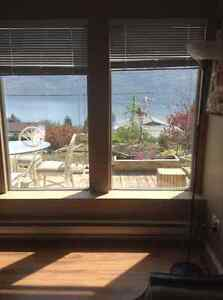 Lake view one bedroom suite/Peachland