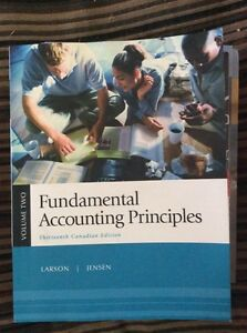 Fundamental accounting principles vol 2 13th edition