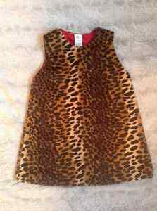 Babygap size 2 years old leopard print dress