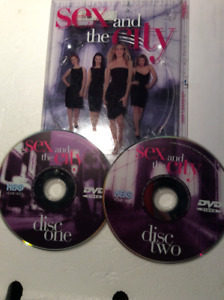 SEX AND THE CITY - SEASON 1 - 2 DVDs - good condition