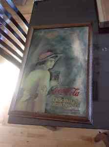 Aubaine - miroir Coca Cola