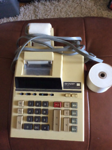 Ancienne calculatrice